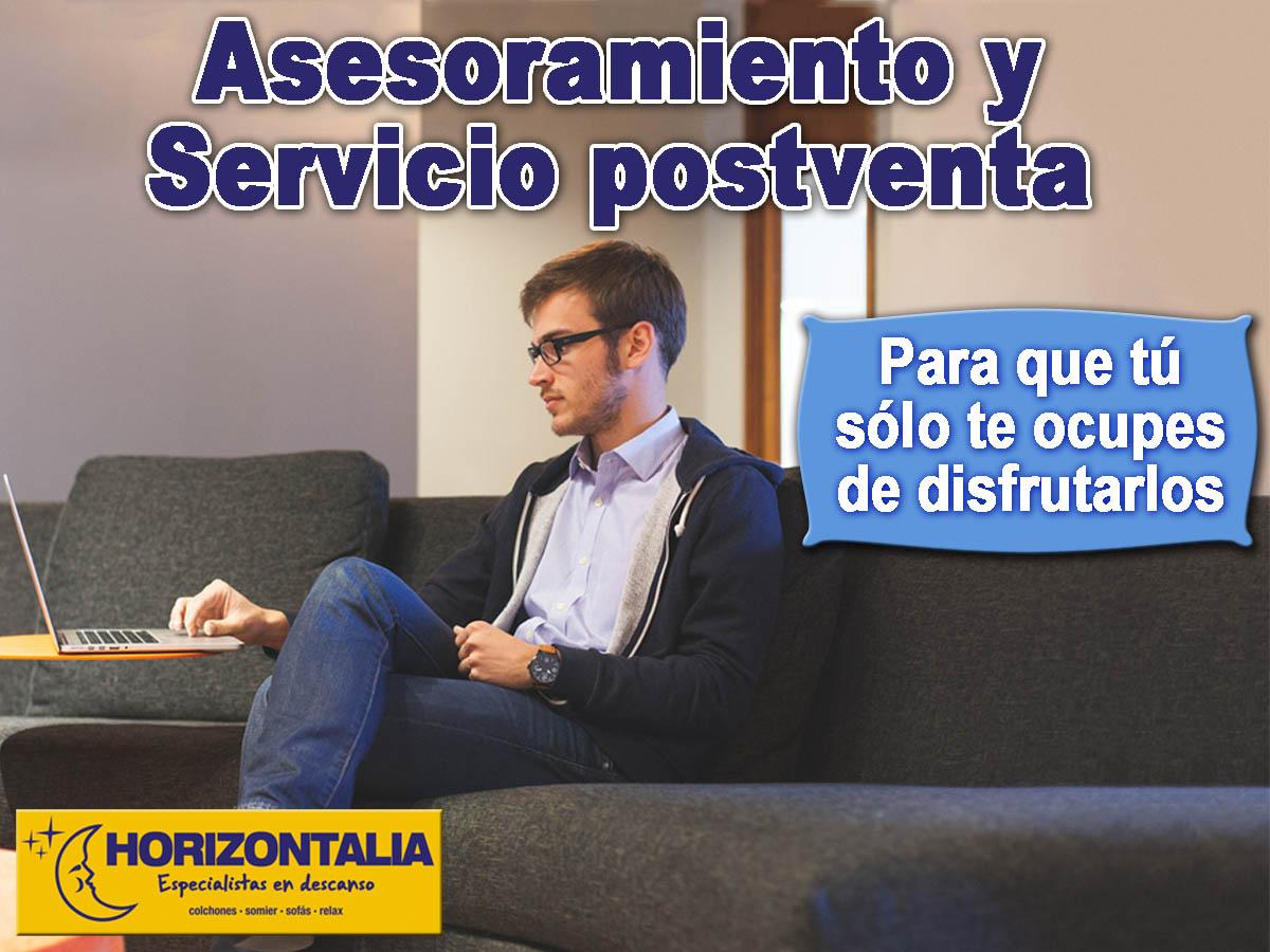 Asesoramiento y servicio postventa horizontalia