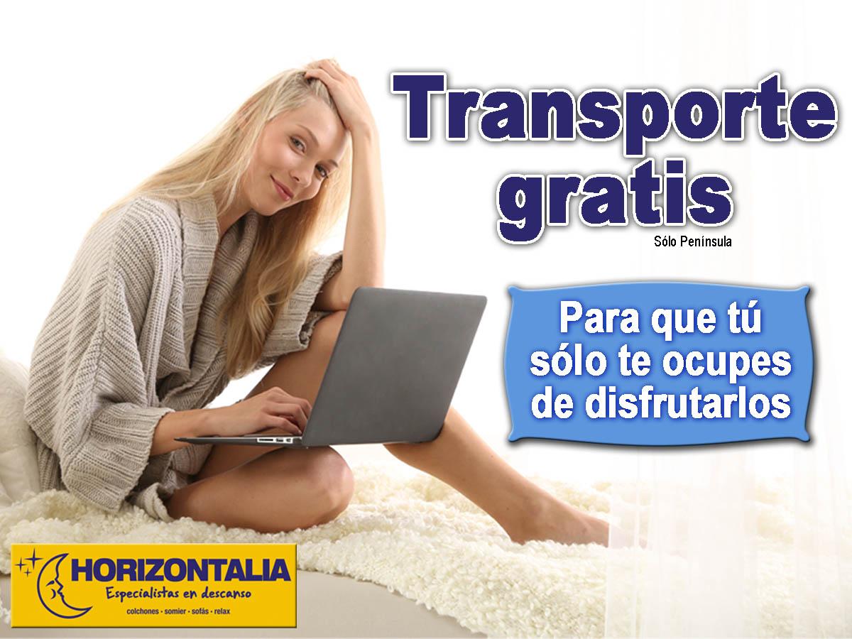 Transporte gratis horizontalia